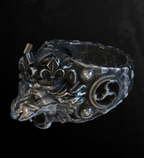 LION, KING'S SILVER RING - RINGS - HISTORICAL JEWELRY