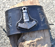 VIKING ROCKER, LEATHER BRACELET - WRISTBANDS