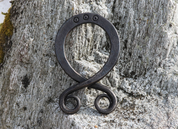 FORGED TROLL CROSS, LARGE WALL DECORATION - FORGED PRODUCTS