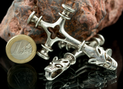 WOLF CROSS XXL ROCK FASHION, TIN - VIKING PENDANTS
