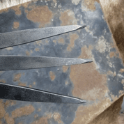 VENGEANCE SLIM (BEGINNER'S SET) THROWING KNIVES, SET OF 3 - SHARP BLADES - THROWING KNIVES