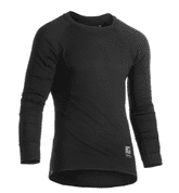 BASELAYER SHIRT LONG SLEEVE - BLACK, CLAWGEAR - SHIRTS AND T-SHIRTS, TACTICAL