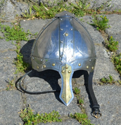 NORMAN NASAL HELMET, WELL DECORATED - VIKINGERHELME