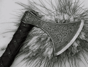 SKJALDBORG, ETCHED VIKING AXE - AXES, POLEWEAPONS