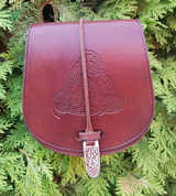 VENDEL LEATHER BELT BAG - BAGS, SPORRANS