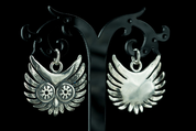 OWL - HEAD, PENDANT, SILVER - MYSTICA SILVER COLLECTION - PENDANTS
