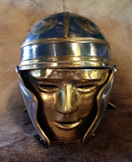 IMPERIAL GALLIC FACE HELMET - ROMAN AND CELTIC HELMETS