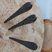VENGEANCE ETCHED THROWING KNIFE - SET OF 3 - SHARP BLADES - THROWING KNIVES