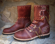 HERSIR, VIKING HIGH BOOTS - VIKING, SLAVIC BOOTS