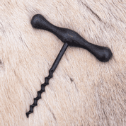 HAND FORGED CORKSCREW, METAL - FORGED IRON HOME ACCESSORIES