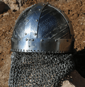 NJORD, VIKING HELMET WITH AVENTAIL - VIKING AND NORMAN HELMETS