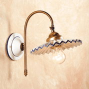 ADRIA CERAMIC WALL LAMP 2048-1 - WALL LAMPS