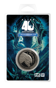 ALIEN COLLECTABLE COIN 40TH ANNIVERSARY SILVER EDITION - ALIEN