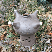 OIL LAMP - OIL LAMPS, CANDLE HOLDERS