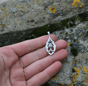 ALBA - SCOTTISH THISTLE, PENDANT, SILVER - MYSTICA SILVER COLLECTION - PENDANTS