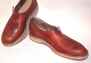 VIKING LEATHER SHOES - HEDEBY - VIKING, SLAVIC BOOTS