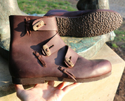BORG, VIKING LEATHER SHOES - VIKING, SLAVIC BOOTS