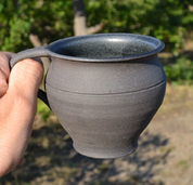 MEDIEVAL CUP, XIV. CENTURY - HISTORICAL CERAMICS