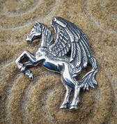 PEGASUS, PENDANT, STERLING SILVER - MYSTICA SILVER COLLECTION - PENDANTS