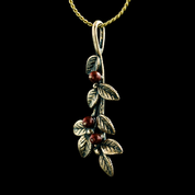 CRANBERRIES, PENDANT, BRONZE - COSTUME JEWELLERY