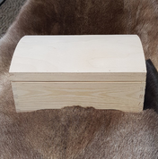 WOODEN CHEST, PINE - WOODEN STATUES, PLAQUES, BOXES