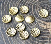 CELTIC COIN, BRASS REPLICA - CELTIC COINS