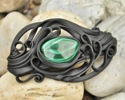 MALACHITE HAIR CLASP - PIERRES ET FANTASY
