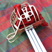 SCOTTISH BASKET HILT BROADSWORD, COLLECTIBLE REPLICA SWORD - FALCHIONS, SCOTLAND, OTHER SWORDS
