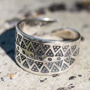 VIKING RING, STERLING SILVER, REPLICA - PENDANTS - HISTORICAL JEWELRY