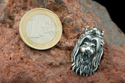 BOHEMIAN LION, PENDANT, STERLING SILVER - PENDANTS - HISTORICAL JEWELRY