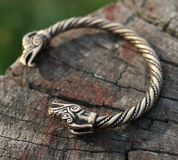 CELTIC DRAGON, BRACELET, BRONZE - BRONZE HISTORICAL JEWELS