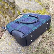 EMILY SHOULDER BAG, TARTAN, WOOL - WOOLEN HANDBAGS & BAGS