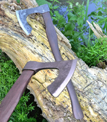 BEARD AXE, HAND FORGED - AXES, POLEWEAPONS