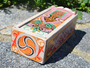 BOOK OF KELLS, CELTIC WOODEN BOX, REPLICA - WOODEN STATUES, PLAQUES, BOXES