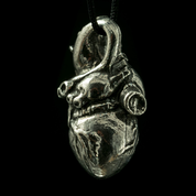 ANATOMICAL HEART, TIN PENDANT - MIDDLE AGES, OTHER PENDANTS