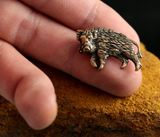 BOAR, BRONZE AMULET - ANIMAL PENDANTS