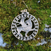 GRIFFIN, BRONZE TALISMAN - PENDANTS, NECKLACES