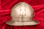 KETTLE HAT WITH RIVETS, HELMET - MEDIEVAL HELMETS