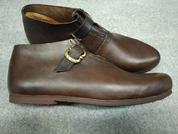 LOUIS, LEATHER MEDIEVAL SHOES - HISTORICAL SHOEMAKING