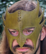 GREENMAN, LEATHER MASK - LEATHER MASKS