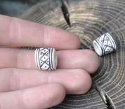 VIKING BEARD RING, DEER ANTLER - DEER ANTLER PRODUCTS