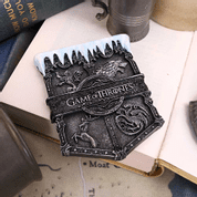 GAME OF THRONES ICE SIGIL HOUSE MASCOT FRIDGE MAGNET - MUGS, GOBLETS, SCARVES