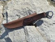 LEATHER SHEATH FOR THE LITTLE KNIFE - KNIVES