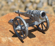 MEDIEVAL CANNON, TIN - PEWTER FIGURES