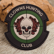 CLOWNS HUNTING CLUB, MULTI PATCH 3D PVC - MILITARY PATCHES