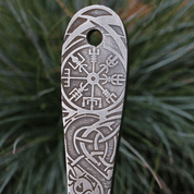 VENGEANCE ETCHED THROWING KNIFE WITH VEGVÍSIR - 1 PIECE - SHARP BLADES - THROWING KNIVES
