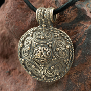VIKING PENDANT, STORA RYK, FÄRGELANDA, SWEDEN, BRONZE - PENDANTS, NECKLACES