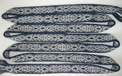 HEDDLE BELT - TABLET WOVEN STRAP XIII, 1 METER - DECORATIVE TEXTILE BELTS