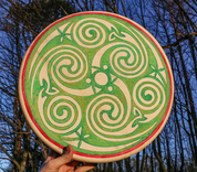 BOOK OF KELLS, SHAMANIC FRAME DRUM 40 CM - DRUMS, FLUTES
