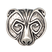 URSUS, BEAR PENDANT, STERLING SILVER - MYSTICA SILVER COLLECTION - PENDANTS